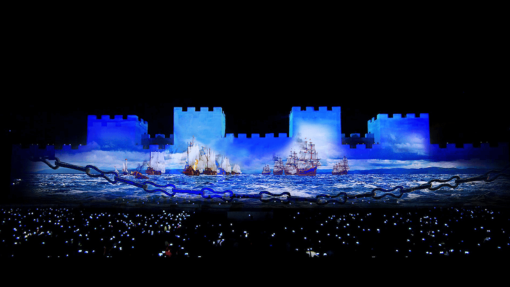 Conquest of Istanbul 3D Projection Mapping (2016)
