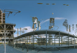 360 degree Refinery in Turkmenistan