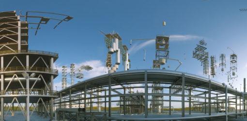 360 degree Refinery in Turkmenistan