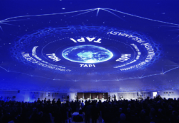 TAPI Groundbreaking Ceremony Dome Projection – Turkmenistan (2015)